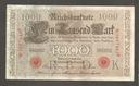 Banknot NIEMCY - 1000 marek - 1910 rok !!!