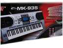 Organy Keyboard 61 klaw MK-935 LCD USB MIDI