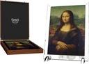 10000 FRANCS MONA LISA - GIANTS OF ART 1 KG AG 999