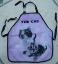 Śliczny, fioletowy NOWY fartuszek THE CAT JEDYNY !