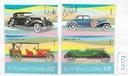 Świat zestaw znaczków kasowanych Samochody