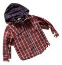 Chłopięca koszula w kratę 110 -116