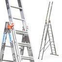 Drabina aluminiowa 3x12 KRAUSE PROFESSIONAL 120625