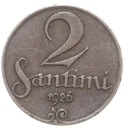 Łotwa - moneta - 2 Santimi 1926 - RZADKA !