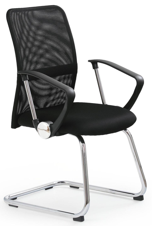 Fotel Biurowy Krzesło Do Komputera Czarny Biurka 5815797880 Allegropl
