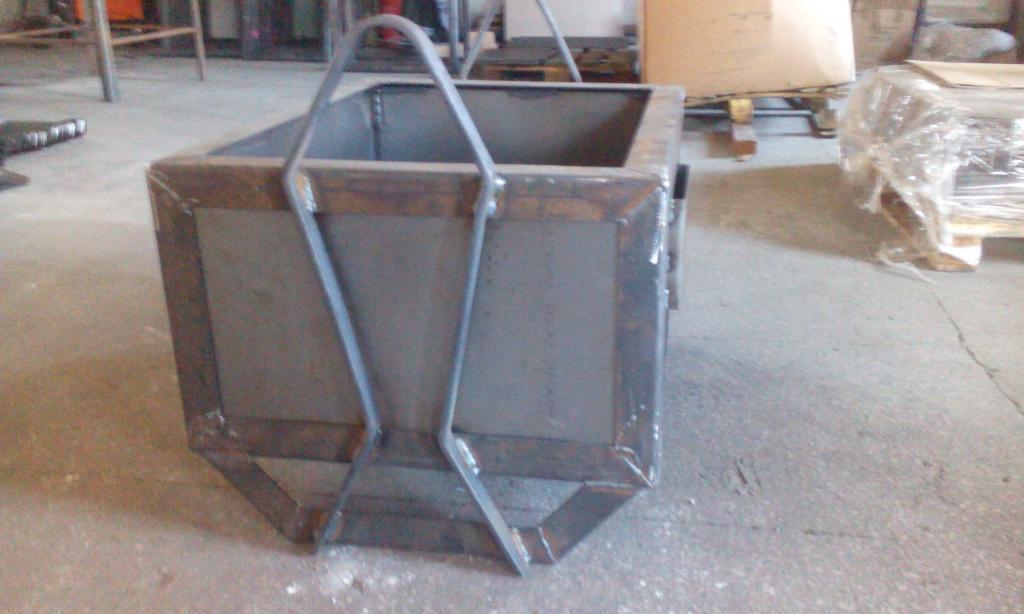 Pojemnik Metalowy Skrzynia Metalowa Odlewy