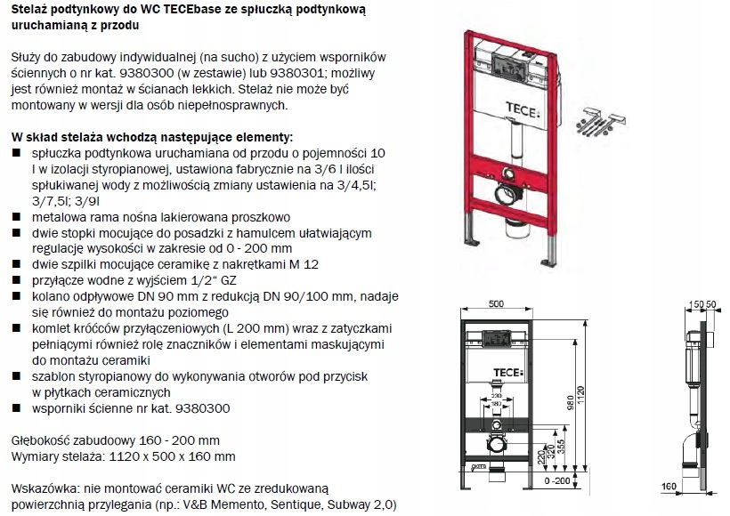 Stelaz Tece Wc I Vitra S50 Miska Deska W O Grohe 6903508692