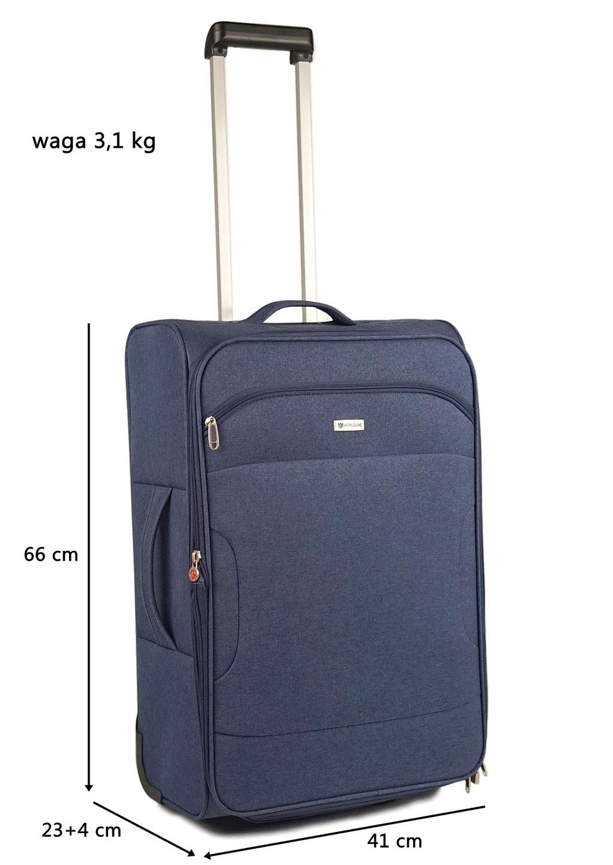 71472a30e1e82 Średnia walizka francuskiej firmy Airtex Paris- seria Wordline model 523