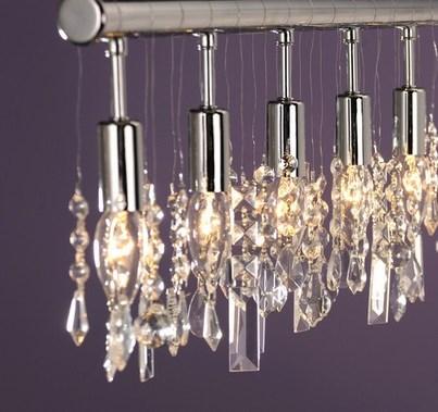 Listwa Lampa Panel Kryształ Do Led Salon Kochnia