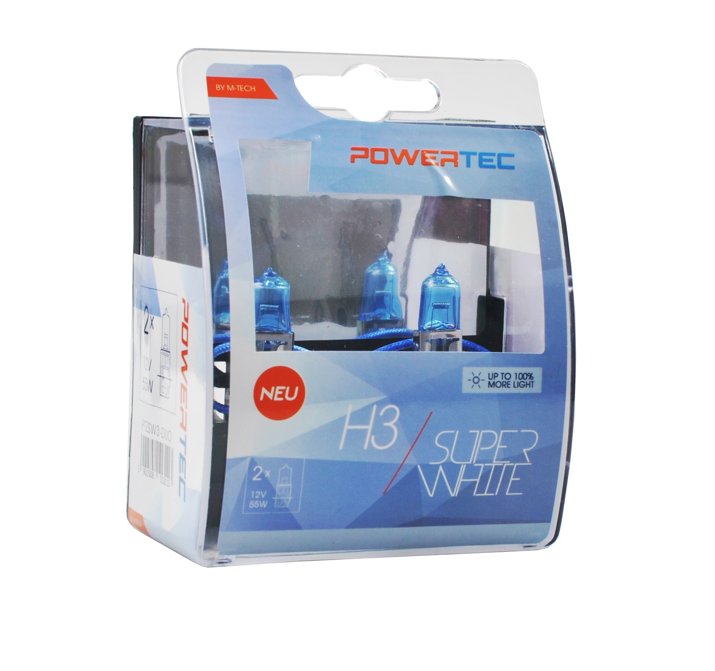 Powertec SuperWhite H3 12V DUO Jak LED