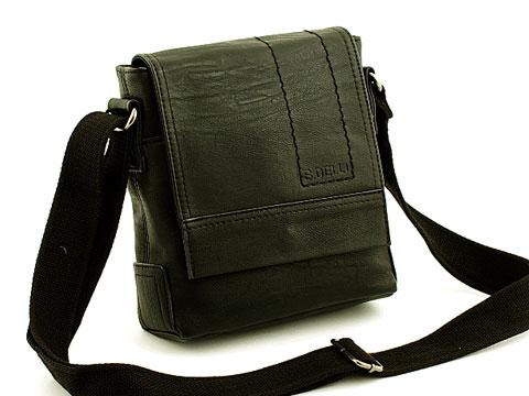9313ecf509d26 Męska torba na ramię listonoszka mała SD060-3 7099078982 - Allegro.pl