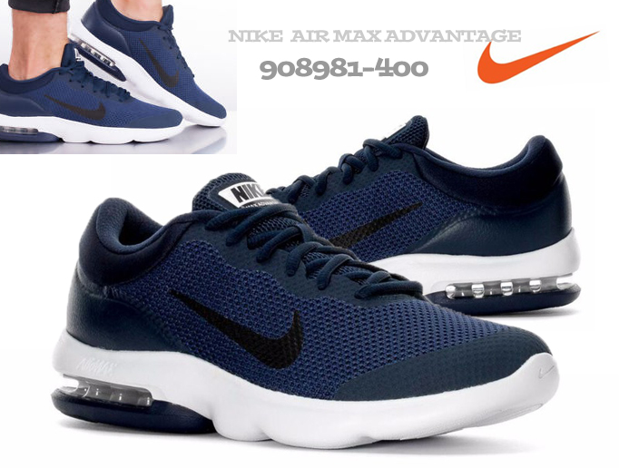 Buty NIKE AIR MAX ADVANTAGE 908981 400 r.46 GRANAT