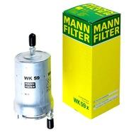 манн filter Топливный фильтр WK59X AUDI SEAT SKOda VW