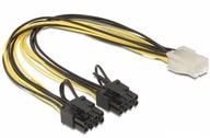 Rozdzielacz zasilania grafiki PCI-E 6pin - 2x 8pin