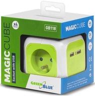 Przedłużacz listwa kostka Magic Cube 4-gniazda USB