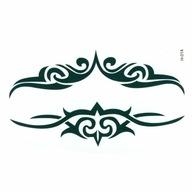Tatuaż Zmywalny Kompas 4 Strony świata Nsew Północ 7458639751
