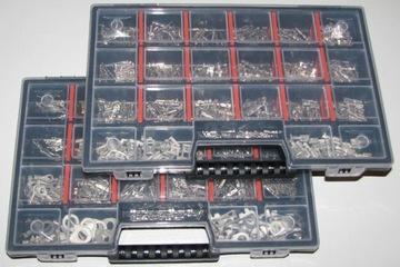 2 органайзера + штекера 1050szt + gumki gratis!!! - фото