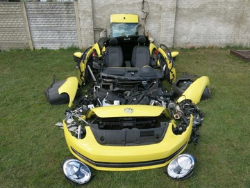 vw new the beetle 5c5 5c3 бампер перед комплектный - фото