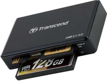 USB3.1 Transcend устройство Чтения карт CF CompactFlash, SDXC доставка товаров из Польши и Allegro на русском