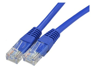 NEKU Кабель патч-корд UTP 5E LAN сетевой цвета 2м доставка товаров из Польши и Allegro на русском