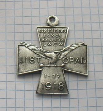 знак Сокол Матрица Львов 1-22 Ноября 1918 доставка товаров из Польши и Allegro на русском