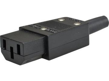 Гнездо компьютерные IEC C13 IEC320 UPS на кабель доставка товаров из Польши и Allegro на русском