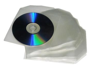 Конверты Полиэтиленовые Толстые - на CD/DVD - 100 шт. доставка товаров из Польши и Allegro на русском