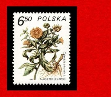 2562 зн cz** 1980 Растения leczn. доставка товаров из Польши и Allegro на русском