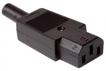(Гнездо компьютерные сети AC 3pin на кабель(0498) доставка товаров из Польши и Allegro на русском