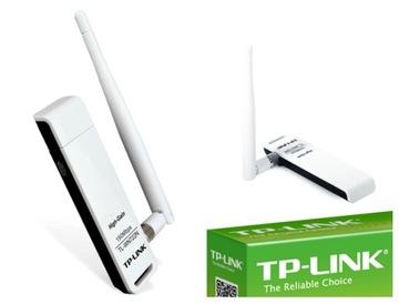 TP-Link СЕТЕВАЯ КАРТА USB WI-FI TL-WN722N LiveBOX доставка товаров из Польши и Allegro на русском
