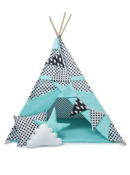Dreamland* Закрытая палатка Типи ВИГВАМ МЕГА НАБОР доставка товаров из Польши и Allegro на русском