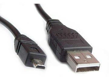 КАБЕЛЬ FOTO PHOTO USB КАМЕРЫ BENQ - mini USB-BM доставка товаров из Польши и Allegro на русском