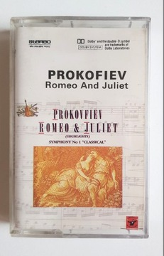 PROKOFIEV ROMEO & JULIET* кассета аудио доставка товаров из Польши и Allegro на русском