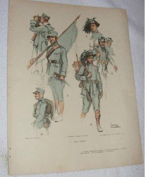 ___ umundurowanie wojskowe Włochy 1914-1916 F04382 доставка товаров из Польши и Allegro на русском