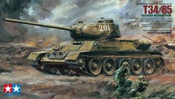 Tamiya 35138 Russian Т34/85 Med Tank 1:35 доставка товаров из Польши и Allegro на русском
