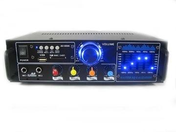 УСИЛИТЕЛЬ AV-РЕСИВЕР СТЕРЕО-0096 USB MP3 КАРАОКЕ доставка товаров из Польши и Allegro на русском
