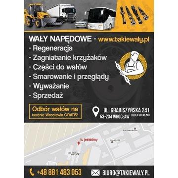 WAL NAPEDOWY IVECO DAILY