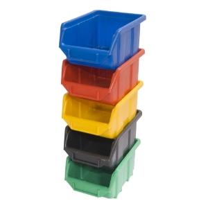 Skladové kontajnery ECOBOX Stredne farby