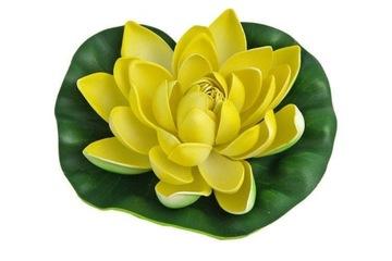Žltý lekno jazierko lekno kvet 19cm