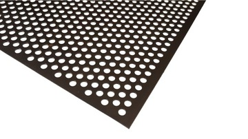 Dierovaný list 1000 x 2000 OC 1 mm 3 - 5 kolesá