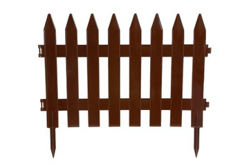 HNEDÝ PLASTOVÝ ZÁHRADNÝ PLOT 3,5m VEĽKÝ plot