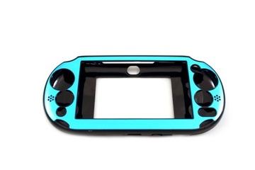 Hliníkový puzdro pre PS VITA SLIM PCH-2 *** [BLUE]