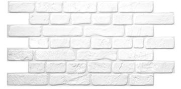 3D TEHLOVÉ STENOVÉ PANELY PVC BIELA PVC BIELA TEHLA