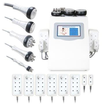 Rádiové vlny RF liposukcia laser studený 6in1 fv
