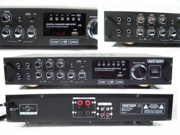 Zosilňovač Amplituner Stereo Bluetooth USB MP3 FM