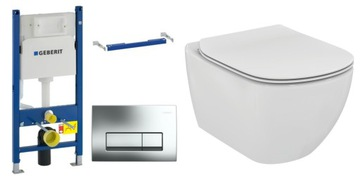 WC prvok Geberit IDEAL TESI RIMLESS WC SLIM