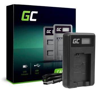 Zelená nabíjačka BC-TRW pre batériu NP-FW50