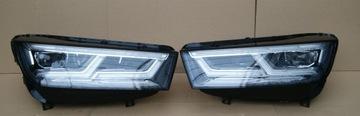 Audi q5 80a полный светодиод matrix 80a941036 80a941035, фото