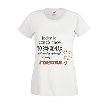 Koszulki ze śmiesznymi napisami w T shirty damskie Moda