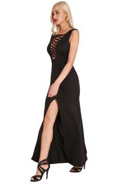 Sukienka na wesele sznurowana syrena (A219) 40